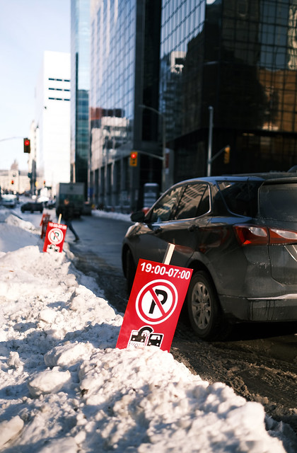 No Winter Parking