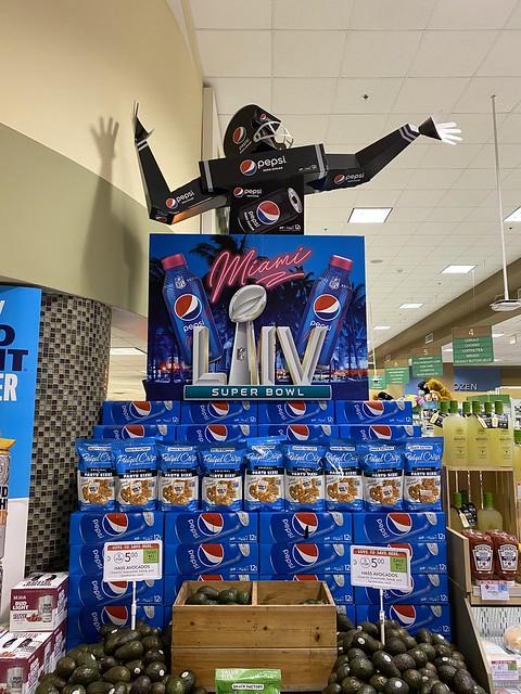 Pepsi Super Bowl Display Publix