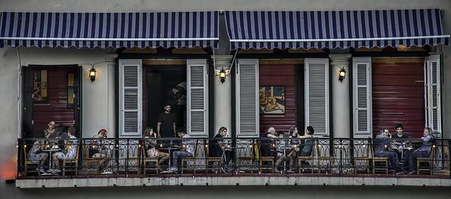 Dining in Havana, Cuba