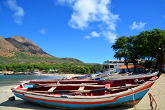 bateaux colorés Cap vert _4376
