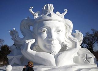 Snow Sculpture Queen