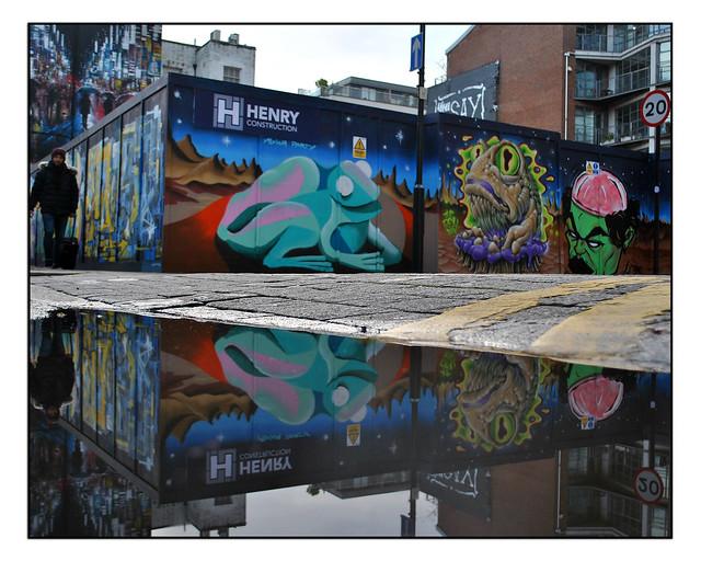 LONDON STREET ART by AGWA,THE REAL DILL & TAMOONZ.