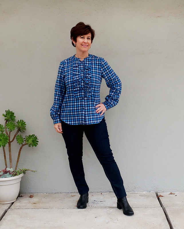 plaid flanned shirt 2