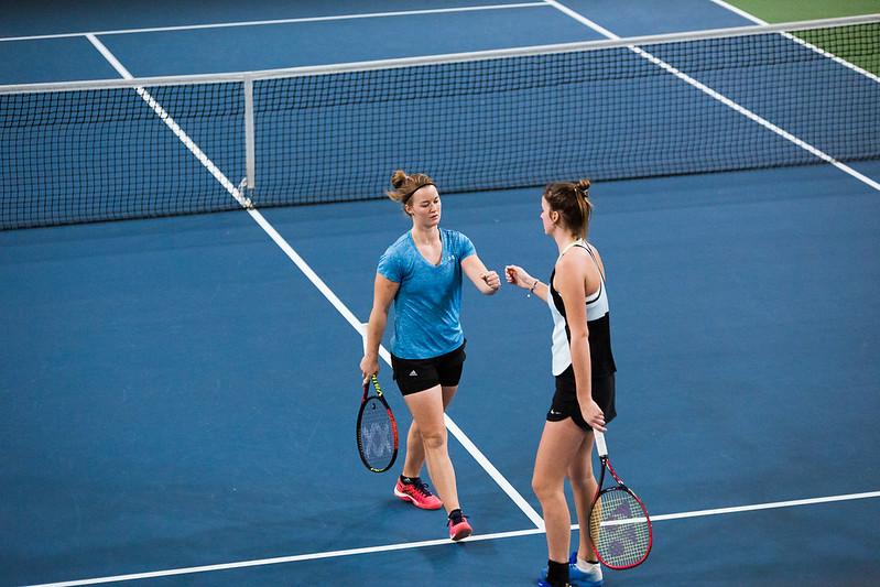 """Starptautiskās ITF pasaules tenisa tūres sacensības sievietēm """"Liepaja Open"""" 5.diena. Foto: Mārtiņš Vējš / 5th day of ITF Women's World Tennis Tour """"Liepaja Open"""". Photo: Mārtiņš Vējš"""