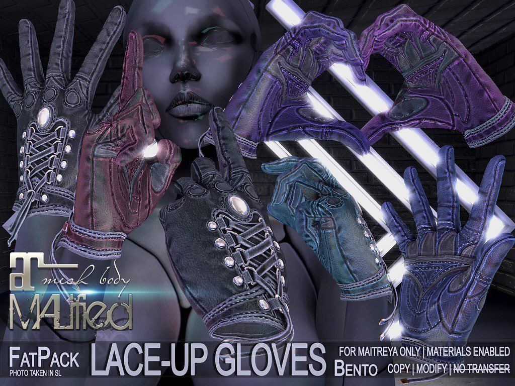 MALified: Lace-Up Leather Bento Gloves – FatPack