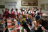 Der Chor der Banater Schwaben Karlsruhe sang noch: Zeit ist ein Geschenk, Die Schlittschuhläufer (Emilé Waldteufel) sowie den Radetzky-Marsch (Johann Strauss)