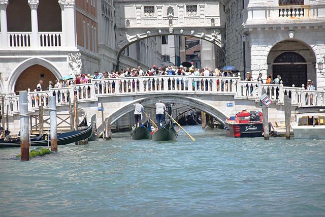 Busy Venice, Italy