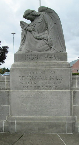 Devonvale Mills War Memorial Dedication