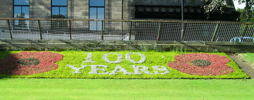Great War's End 100 Year Anniversary Memorial Floral Tribute
