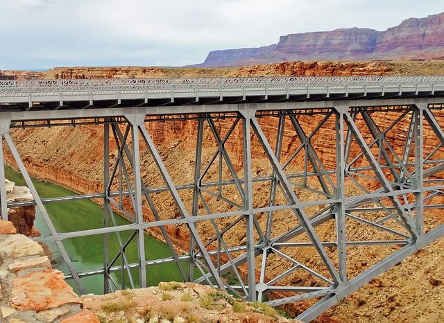 Navajo Bridge, Marble Canyon, AZ 9-2015