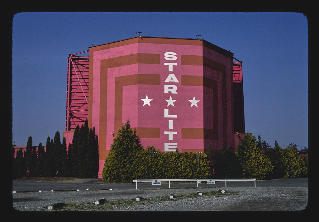 Star Lite Drive-in Theater, S. Tacoma Way, Tacoma, Washington (LOC)