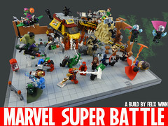 Marvel Super Battle by Felix, age 8