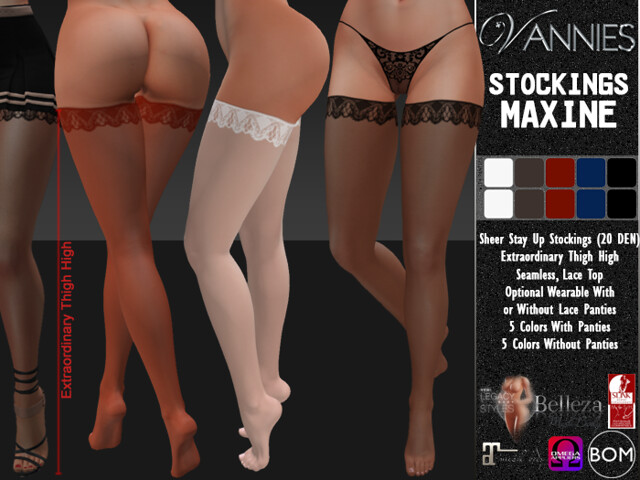 VANNIES Stockings Maxine