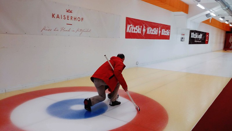 Curling in Sportpark Kitzbuhel