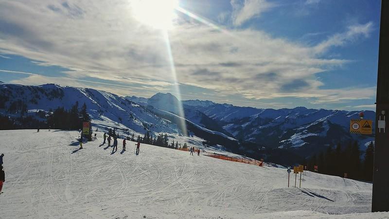 Skiing Kitzbuhel