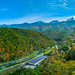 Pano view - the autumn of 知床五湖  Shiretoko National Park (UNESCO World Heritage Site)