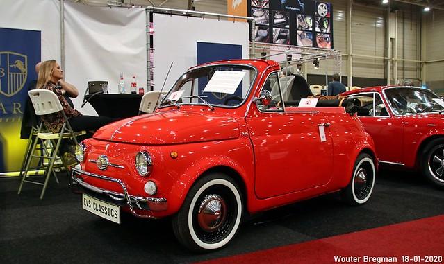 Fiat 500 F cabriolet 1970