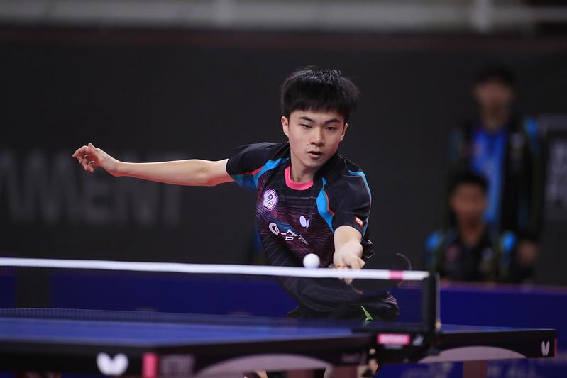 林昀儒。(圖/ITTF提供)