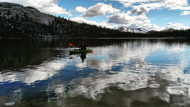 Tenaya Lake Clouds Rest
