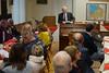 Beschlossen wurde der Jahresempfang mit einem geistlichen Wort des aus Siebenbürgen stammenden Pfarrers Hermann Kraus