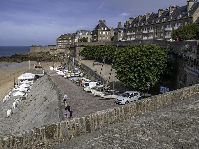 Saint Malo city wall