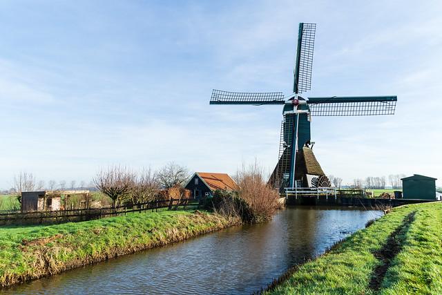 Noordeloos - The Boterslootse mill