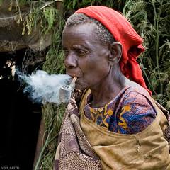 Old woman Uganda