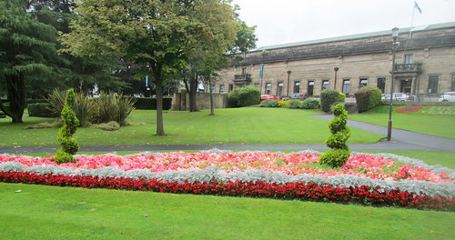 Flower Bed, Kirkcaldy War Memorial Garden