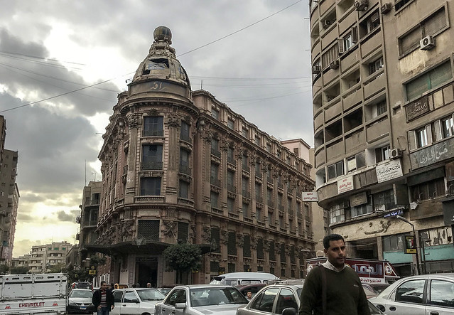Omar Effendi's Abdel Aziz street branch in Downtown Cairo
