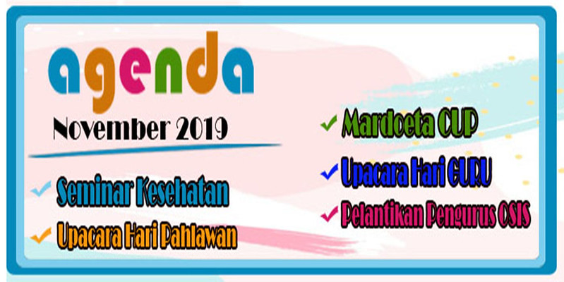 Agenda November 2019
