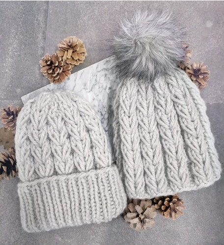 I can't wait until Veronica writes up the pattern for this gorgeously textured hat!