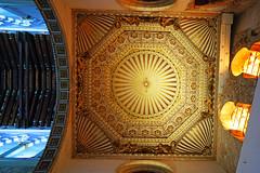 The vault of the Synagogue of Santa María la Blanca, Toledo