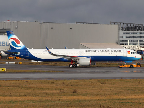 D-AVYD 9365 A321 Chongqing XFW 22-01-20