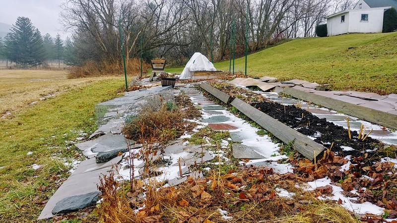 In-ground Garden in January