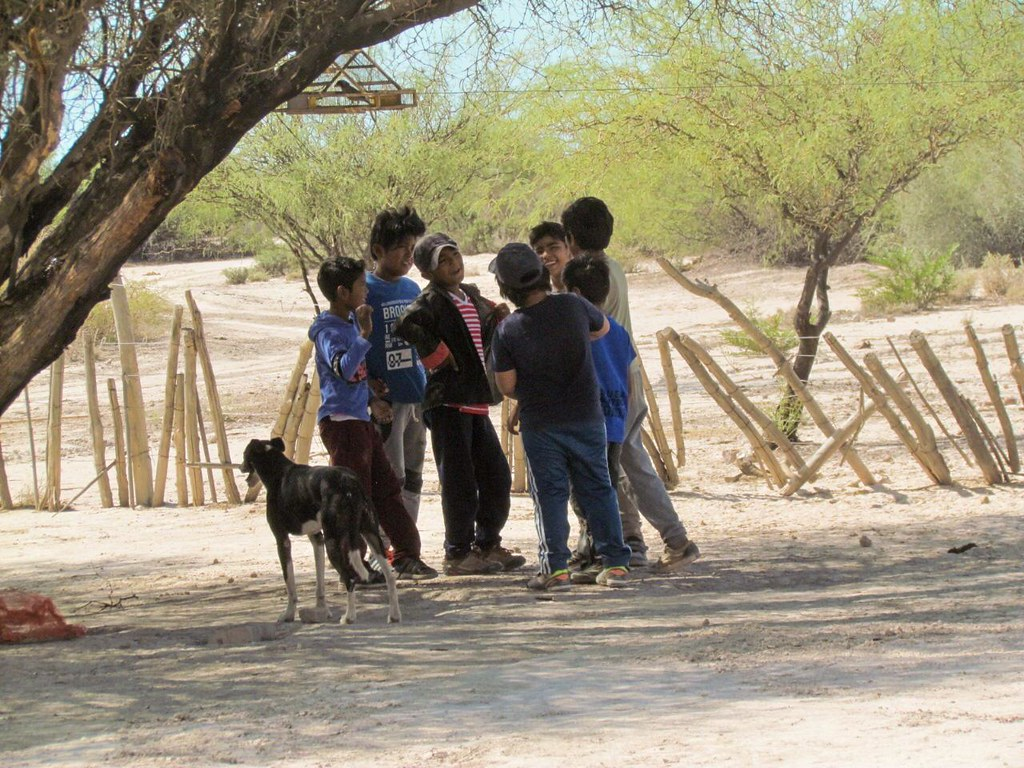 2020-01-24 DESARROLLO HUMANO: Visita Huarpes de Guanacache