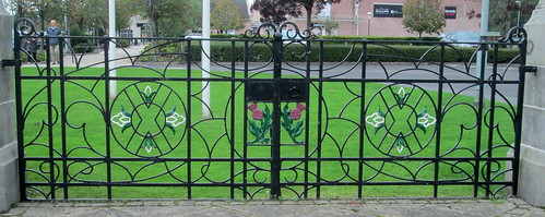 Devonvale Mills War Memorial Gates