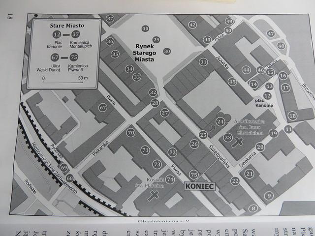 Mapa 2 Starego Miasta 8731
