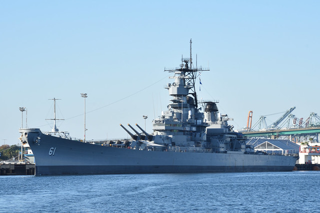 Battleship USS Iowa (BB-61)