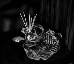 Still Life Test Shot. Monochrom M9 and 7Artisans 75mm 1.25