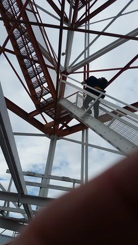Climbing Wendover Tower