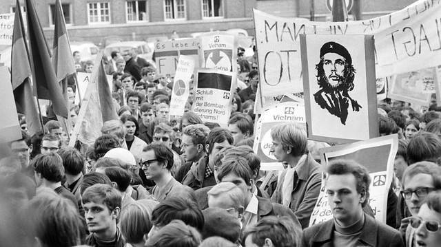 68er Studentenprotest Debatte Generation