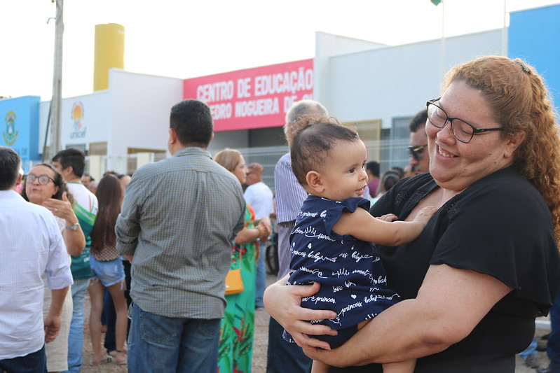 Inauguração CEI Pedro Nogueira de Queiroz - Cajueiro da Malhada