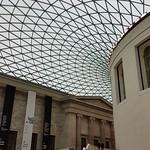 Queen Elizabeth II Great Court, British Museum, London.