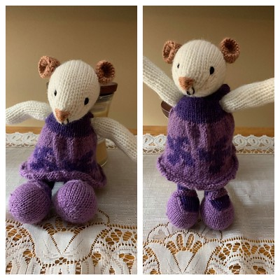 Diane's sweet Little Mouse by Littke Cotton Rabbits!