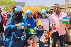 Xarunta Aw Jaamac ayaa magaalada #Gaalkacyo #Puntland #Somalia ku abatay todobaadka dhaqanka.  ©SaciidNadaara
