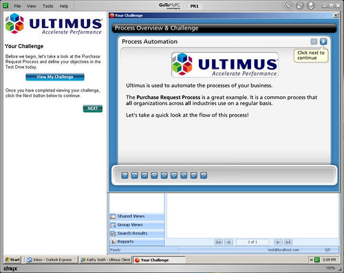 Ultimus Test Drive 2010