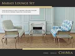 Marais Lounge Set by ChiMia