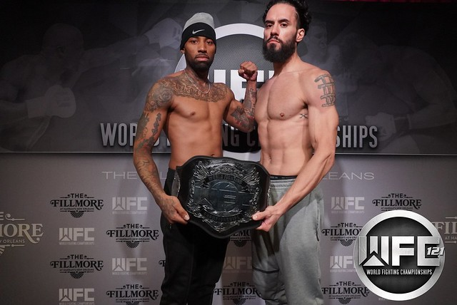 WFC 121 1/24/20 Weigh-Ins at Fillmore New Orleans