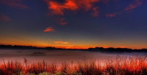 Ground Fog On The Plains.