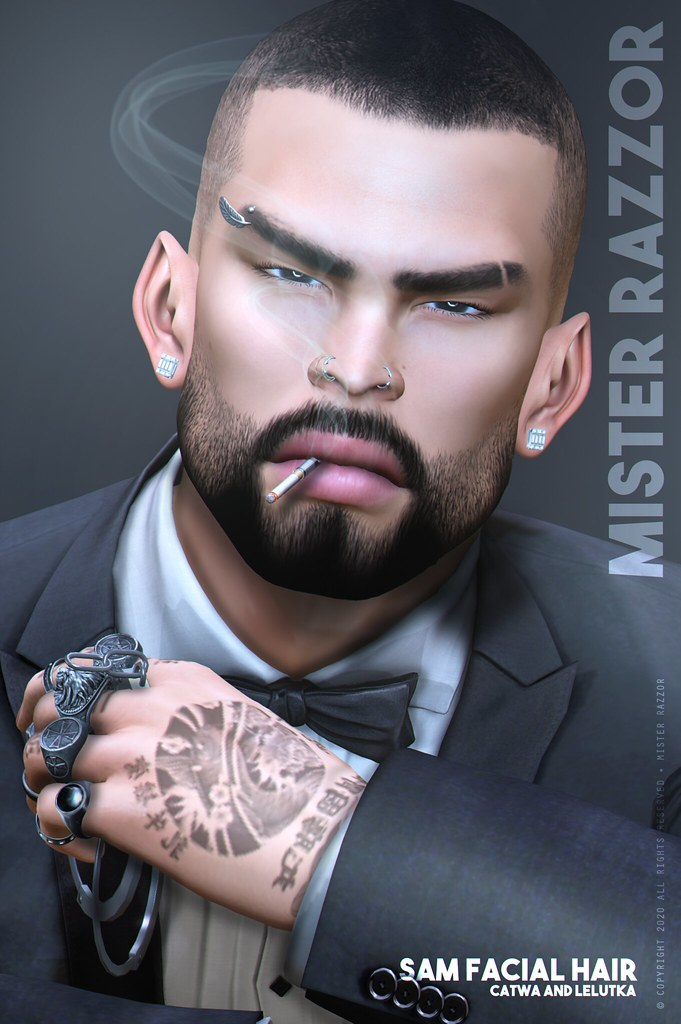 ((Mister Razzor)) Sam Facial Hair